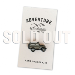 Sackwear Adventure Pin FJ40